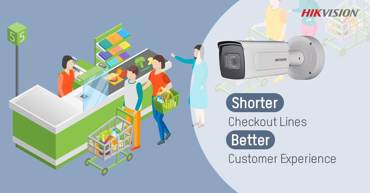 با دوربین مداربسته هایک ویژن کوتاه کردن فرآیند خرید برای کسب مشتریان بیشتر و راضی تر