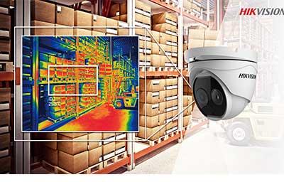 شرکت هایک ویژن اولین دوربین حرارتی خود را با فناوری جدید bi-spectrum تولید کرد