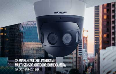 جدیدترین دوربین مداربسته پانوراما با وضوح فوق العاده بالا  32 مگاپیکسلی توسط شرکت هایک ویژن ساخته شد